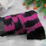 Капрон для цветов Розовый+Черный