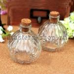 Стеклянная бутылка в стиле ретро