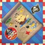 Салфетка Пиратская карта