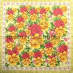 Салфетка Рисованные розы