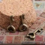 Винтажная подвеска Ключ мини