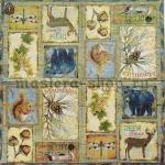 Салфетка Лесные животные