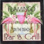Салфетка Фламинго