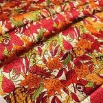Ткань для печворка и рукоделия: Осенние листья