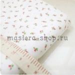 Ткань для печворка и рукоделия Мелкие розочки