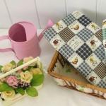 Ткань для печворка и рукоделия Water Pot