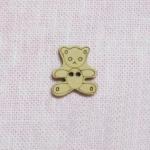 Пуговица деревянная Мишка