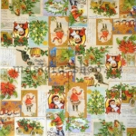 Салфетка Ретро открытки