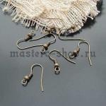 Швензы-крючки с пружинкой и шариком (пара)