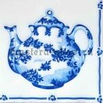 Салфетка Синий чайник