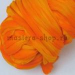 Капрон для цветов Оранжевый+Желтый