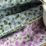 Ткань для печворка и рукоделия Весна лиловая