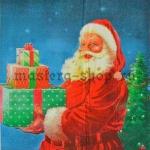 Салфетка Санта с коробками