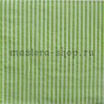 Салфетка Полоска тонкая зеленая