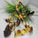 Капрон для цветов Кофе с желтым