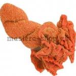 Капрон для цветов Оранжевый с золотом