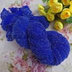 Капрон для цветов Сапфировый с серебром