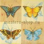 Салфетка Четыре бабочки