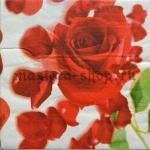 Салфетка Роза с лепестками