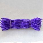 Неравномерная проволока шенил (синель)  Фиолетовая