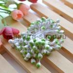 Тычинки большие Бело-зеленые (5 мм)