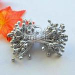 Тычинки большие Серебряные (4-5 мм)
