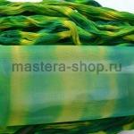 Капрон для цветов Изумрудный+Зеленовато-желтый
