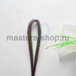 Проволока для цветов из капрона: 0,45мм (№26) Мультиколор