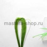 Проволока для цветов из капрона: 0,45мм (№26) Светло-зеленый