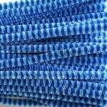 Проволока шенил (синель) Синий-голубой