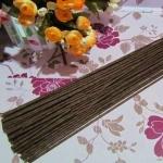 Проволока флористическая с бумажной обм. D=3 мм Коричневая 40см