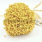 Тычинки средние лимонные (2-3 мм)