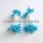 Тычинки средние голубые светлые (2-3 мм)