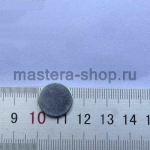Магнит круглый неодимовый сверхсильный. Диаметр 1,5 см