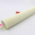Гофрированная флористическая бумага Кремовый