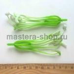 Тычинки и пестик лилии. 12 см. Зеленые с белым