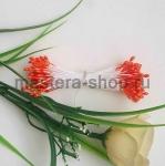 Тычинки малые оранжевые яркие (1-1,5 мм)