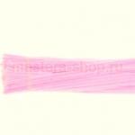Пушистая проволока шенил (синель)  Розово-белая
