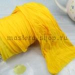 Капрон для цветов Лимонно-желтый