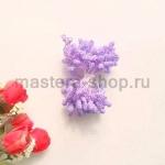 Тычинки зернистые розово-сиреневые (4 мм)