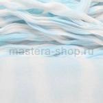 Капрон для цветов Небесный+Белый