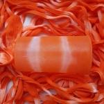 Капрон для цветов Ярко-оранжевый+Лососевый