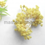 Тычинки зернистые желтые (4 мм)