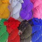 Цветной капрон для цветов с люрексом