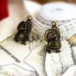 Винтажная подвеска Дед Мороз