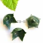 Чашелистик розы. 4 см. Темно-зеленый
