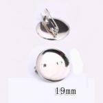 Основа для броши круглая 19 мм