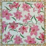Салфетка Розовые лилии
