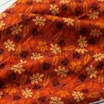 Ткань для печворка и рукоделия: Желуди