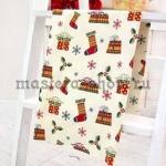 Ткань для печворка и рукоделия: Носки, подарки, снежинки